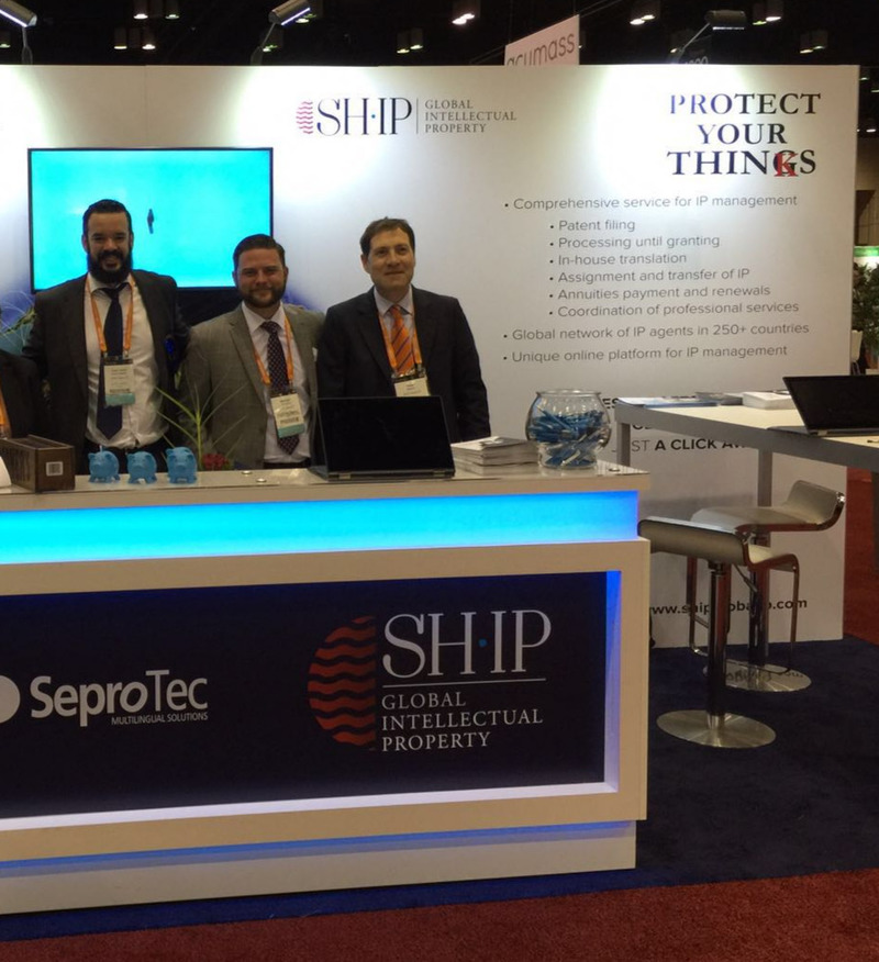 SHIP's booth at INTA 2016