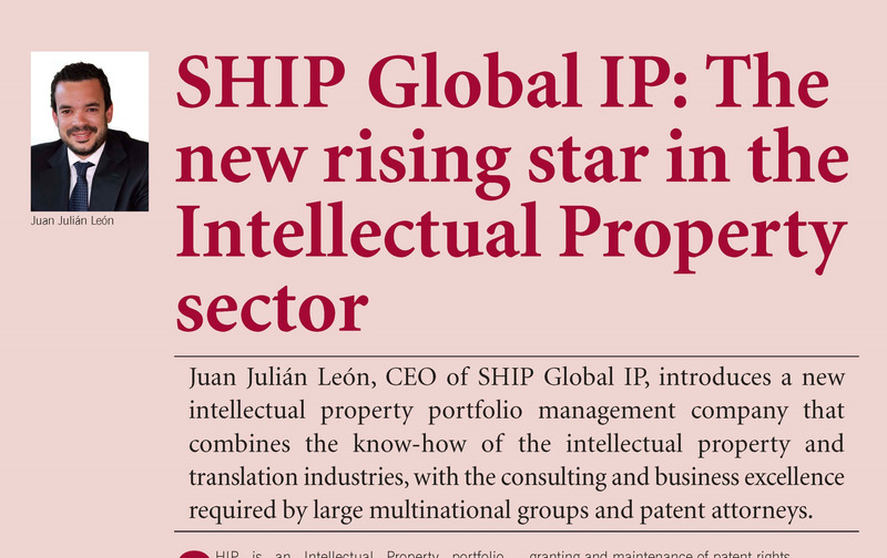 SHIP at the Patente Lawyer Magazine