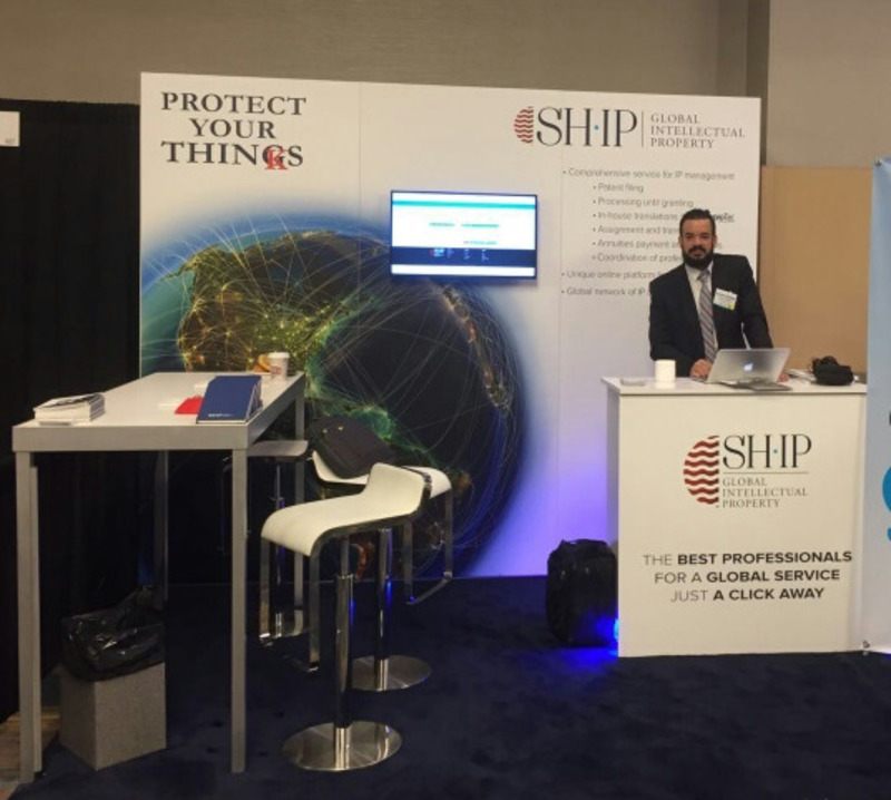 SHIP's booth at IPO 2016