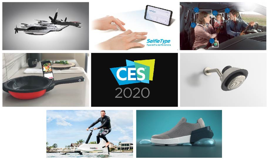 Seven appealling technological innovations from CES 2020