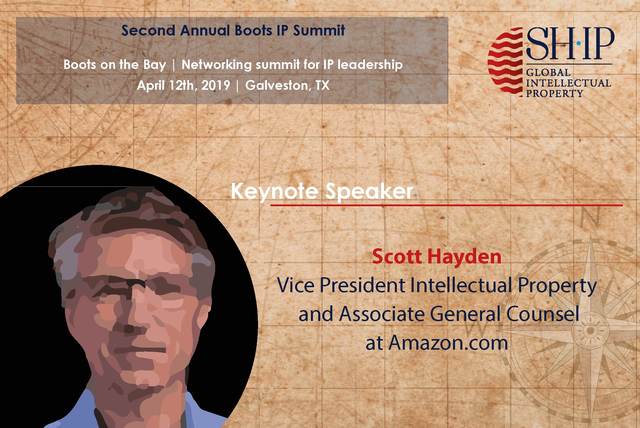 Third Keynote Speaker at Boots on the Bay IP Summit announced!