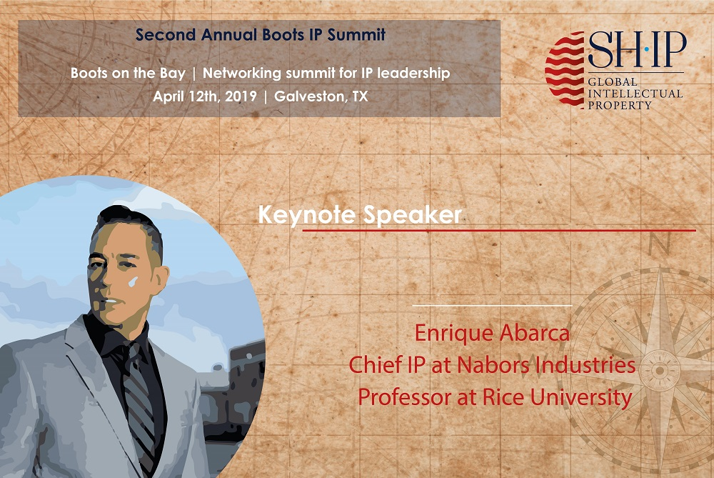 First Keynote Speaker at Boots on the Bay IP Summit announced!