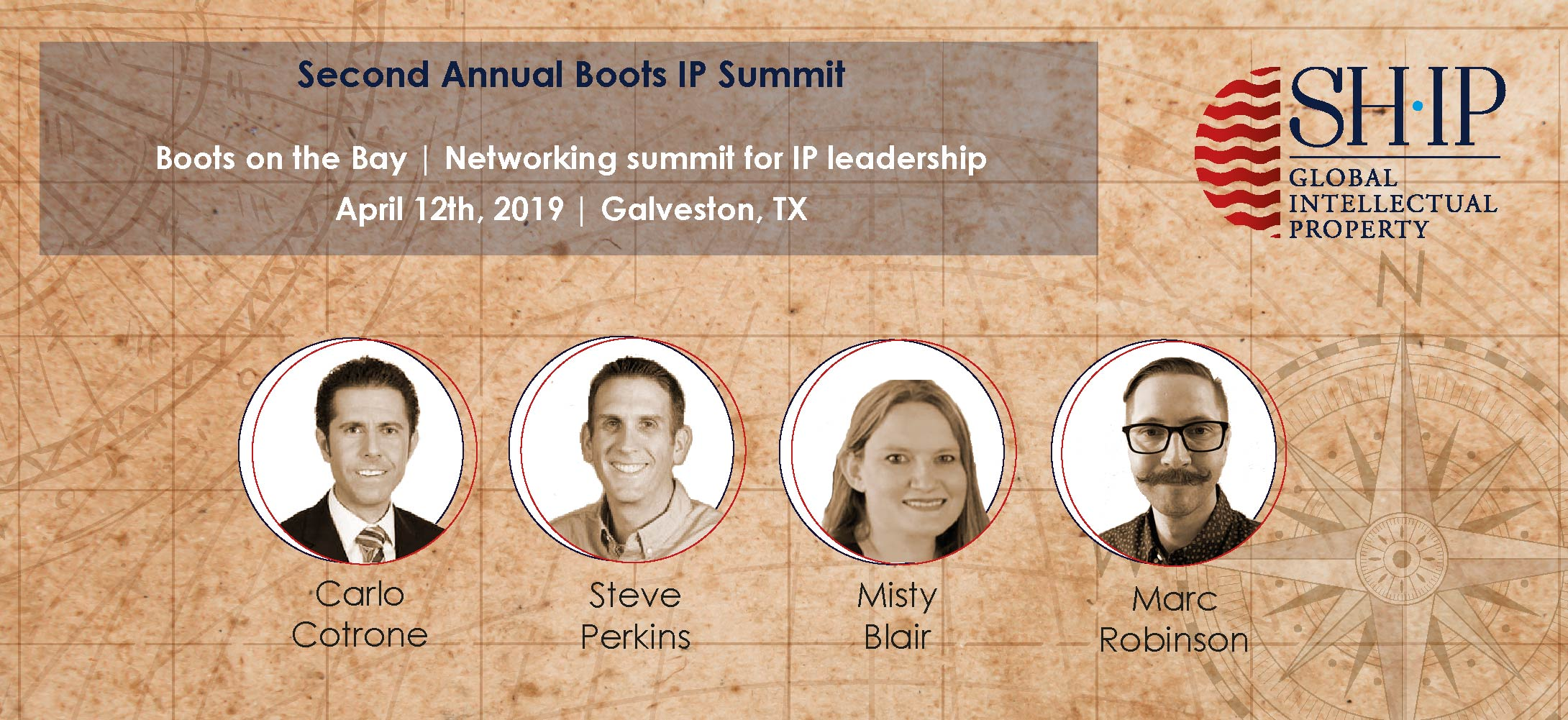 IP Leadership Panelist at Boots on the Bay IP Summit announced!
